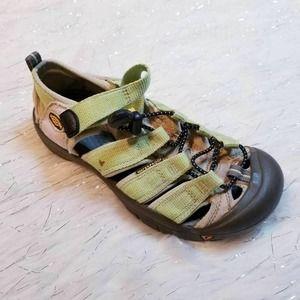 KEEN Kids Newport H2 Sports Sandals Green 1006560